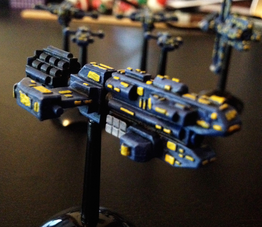 GZG UNSC Intro Fleet